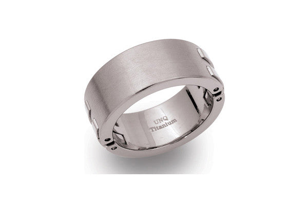 Unique Titanium Ring Tr-36