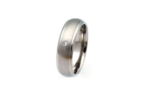 Unique Titanium Ring Tr-57