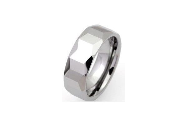 Unique Tungsten Carbide Polished Ring Tur-11