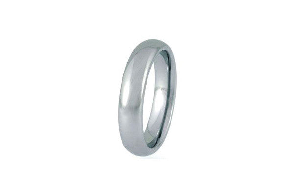 Unique Tungsten Carbide Polished Ring Tur-21