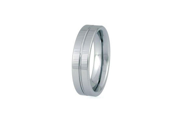 Unique Tungsten Carbide Polished Ring Tur-28