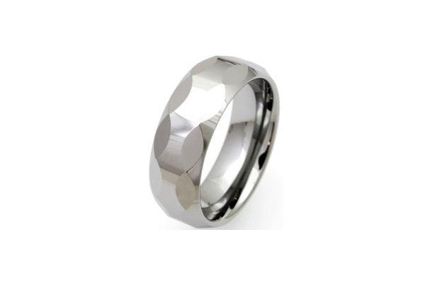 Unique Tungsten Carbide Polished Ring Tur-4