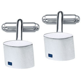 Fred Bennett Cufflinks With Square Sapphire Detail