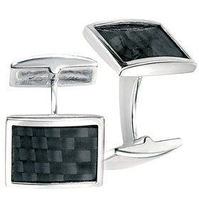 Fred Bennett Cufflinks Carbon Fibre Detail
