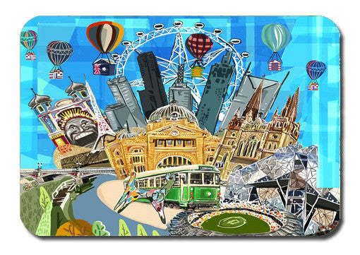 Postcard - Melbourne Icons