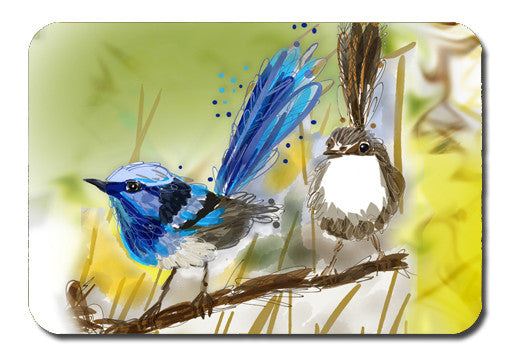 Postcard - Australiana Wrens