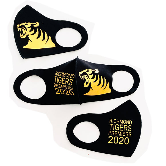 Face mask - AFL Footy Richmond Tigers Premiers