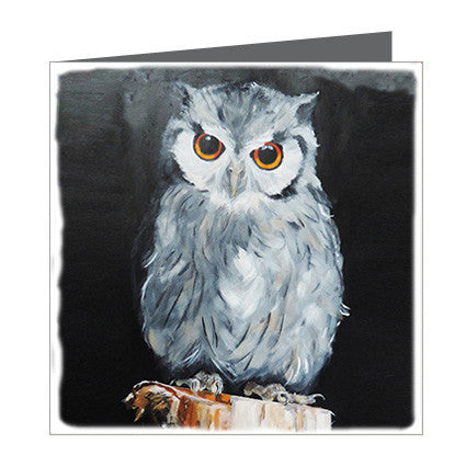Card - Bassett - Owl Wise