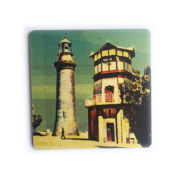Coaster Timber - Iconic Bellarine Queens Cliff Lighthouse