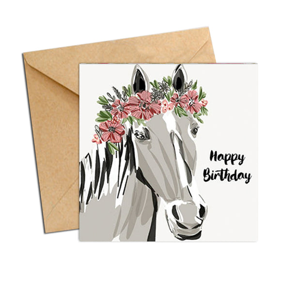 Card - Birthday Horse