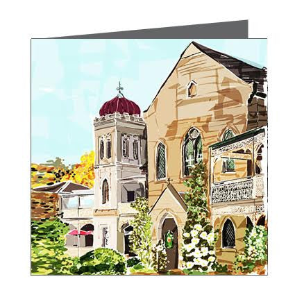 Card - Iconic (Vic) Daylesford Convent