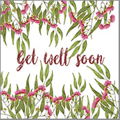 Small Cards (Pack of 10) - Get Well Soon Gumnuts