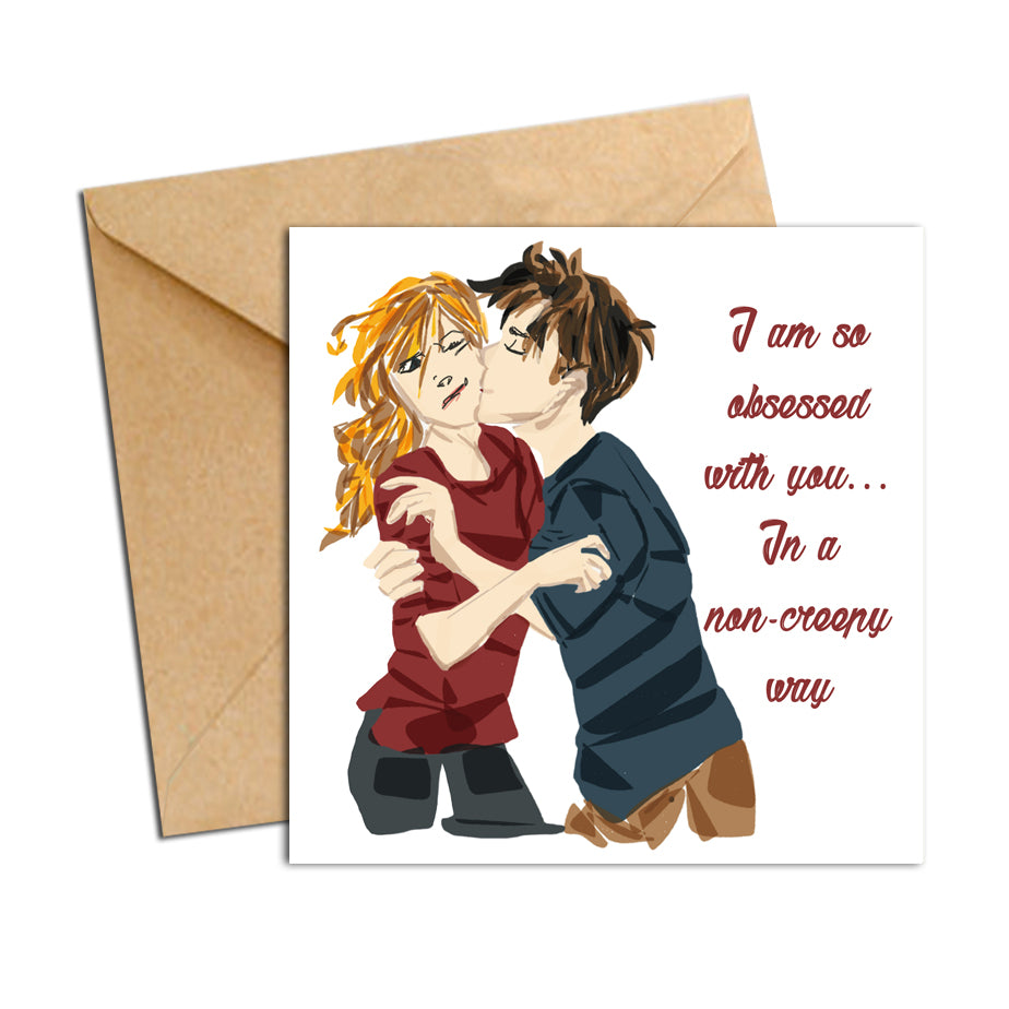 Card - quote - I am obsessed with you