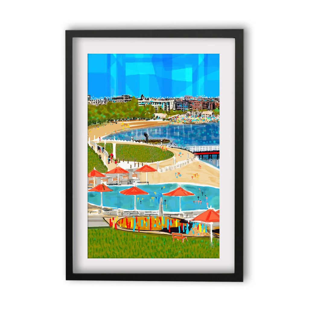 Print (Iconic) - Bellarine Geelong Eastern Beach