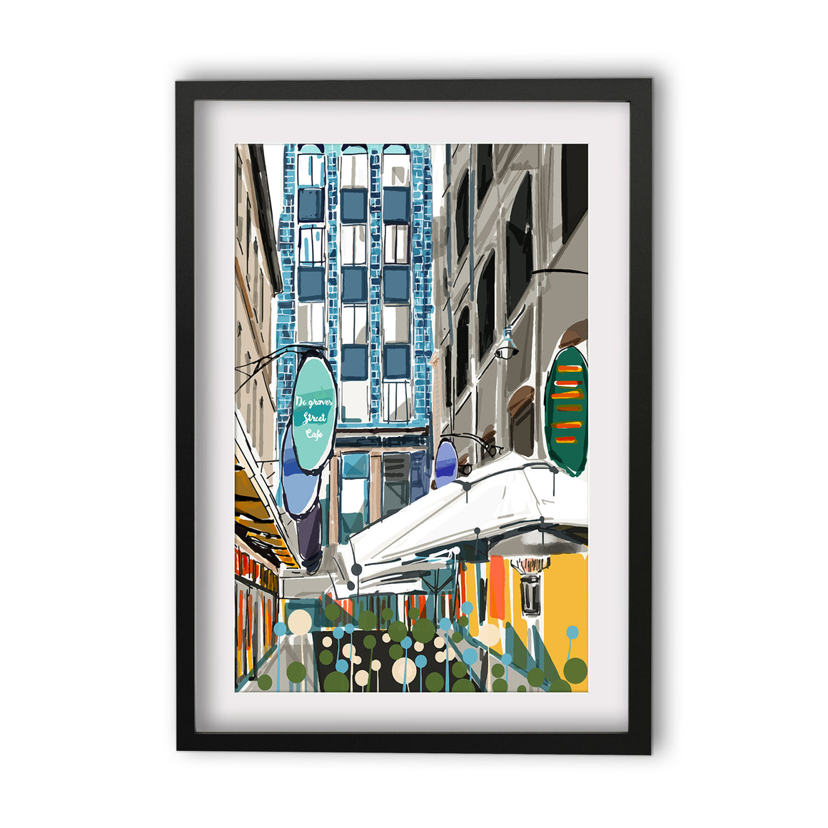 Print (Iconic) - Melbourne Degraves Street (Portrait)