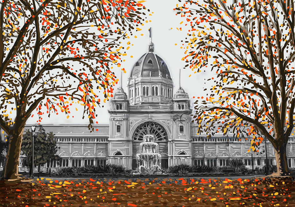 Print (Iconic) - Melbourne Royal Exhibition Building