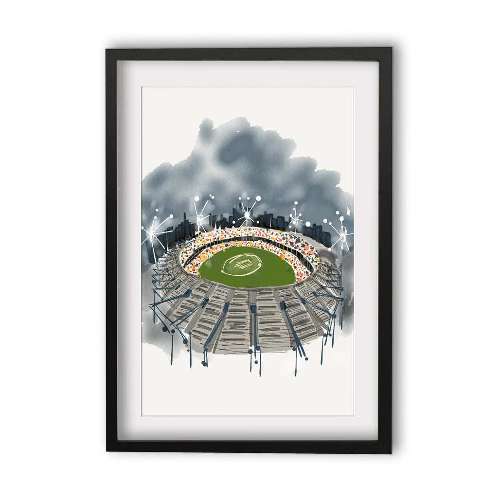 Print (Iconic) Melbourne MCG Aerial View