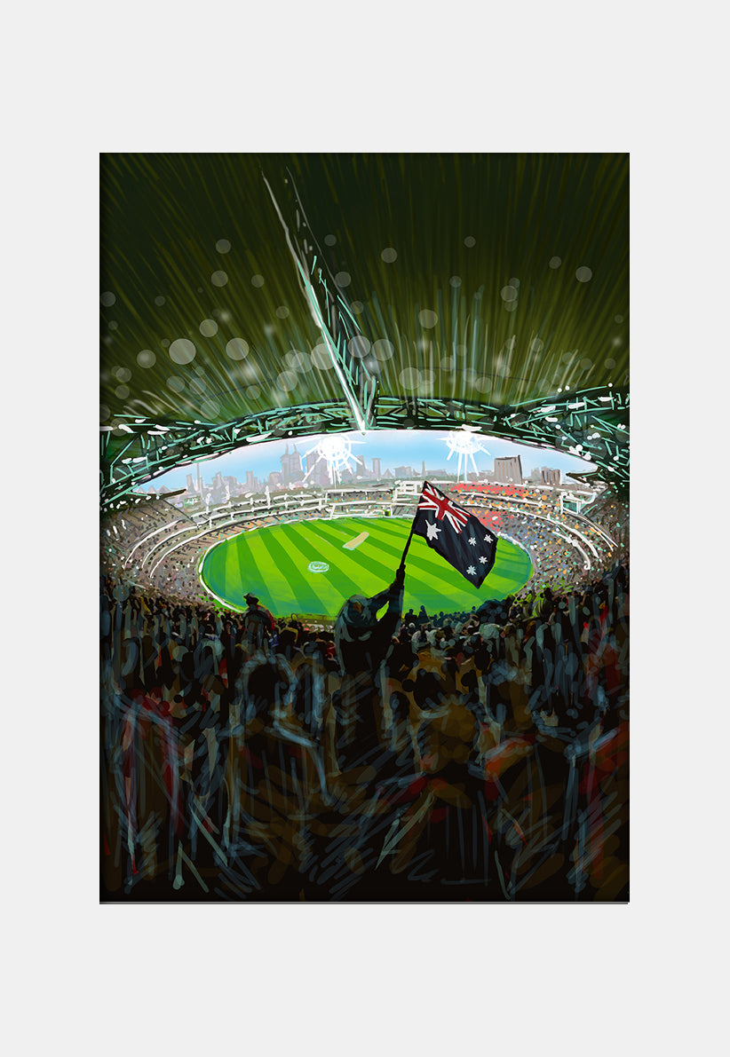 Print (Iconic) - Melbourne MCG Internal View