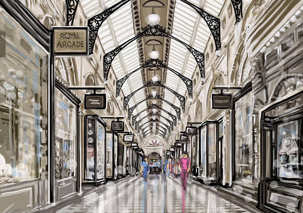 Print (Iconic) - Melbourne Royal Arcade