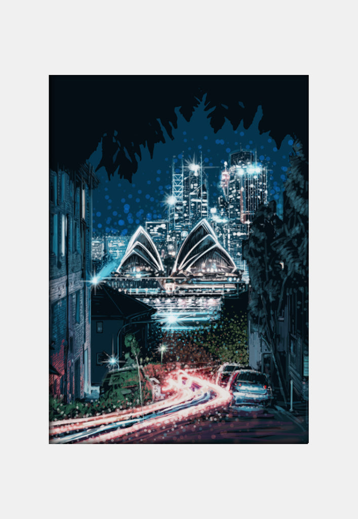 Print (Iconic) - Sydney Opera by night