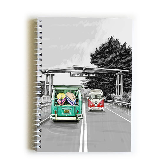 Note Book A5 - Iconic Bellarine Great Ocean Road Portal