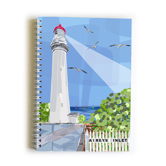 Note book A5 - Iconic Bellarine Airey's Inlet Light house