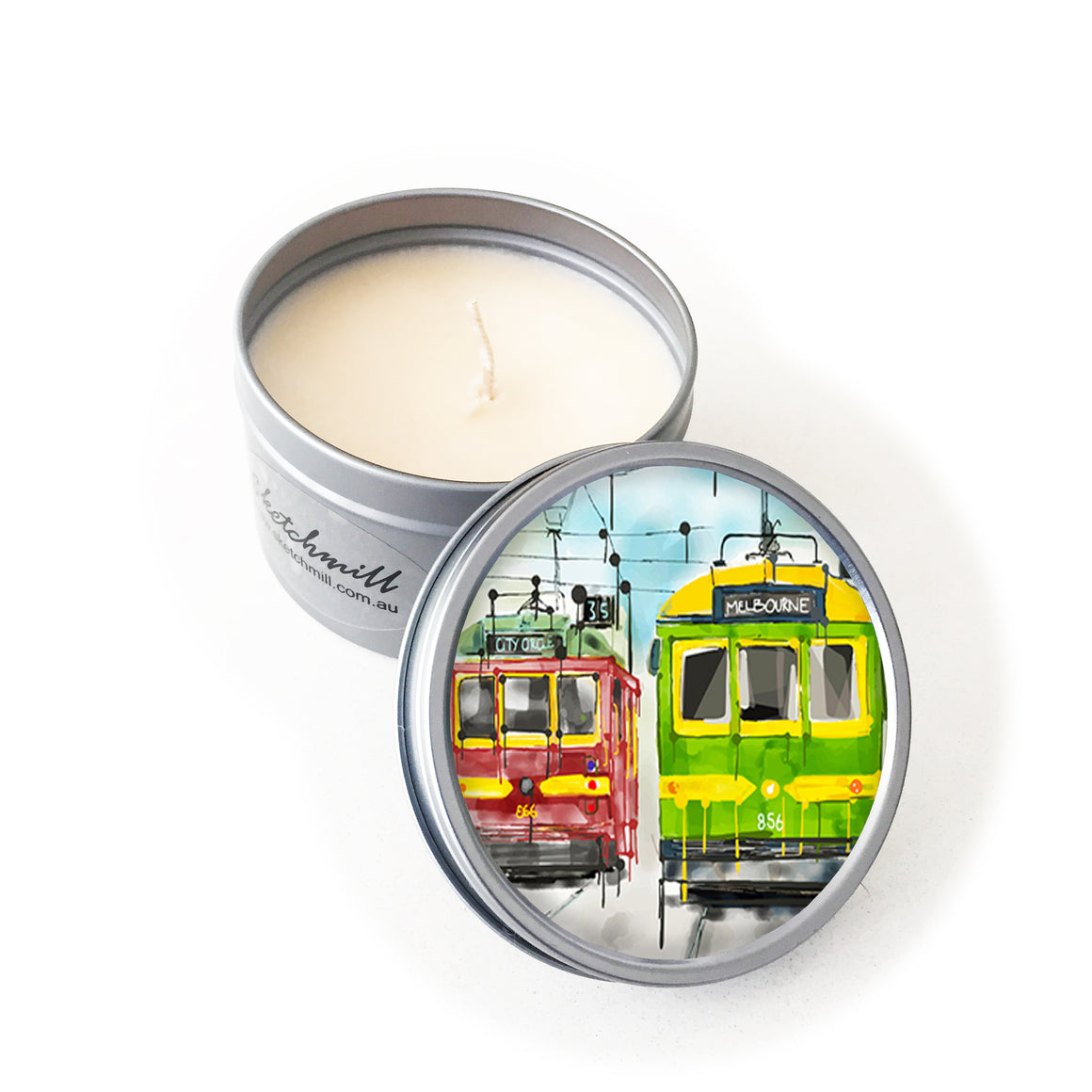 Candle - Iconic Melbourne Trams
