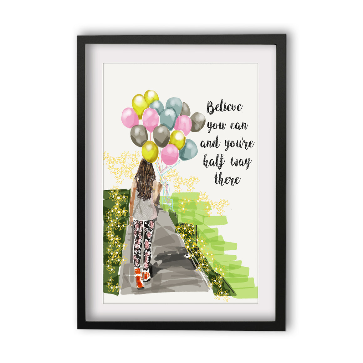 Print Quote - Believe You Can