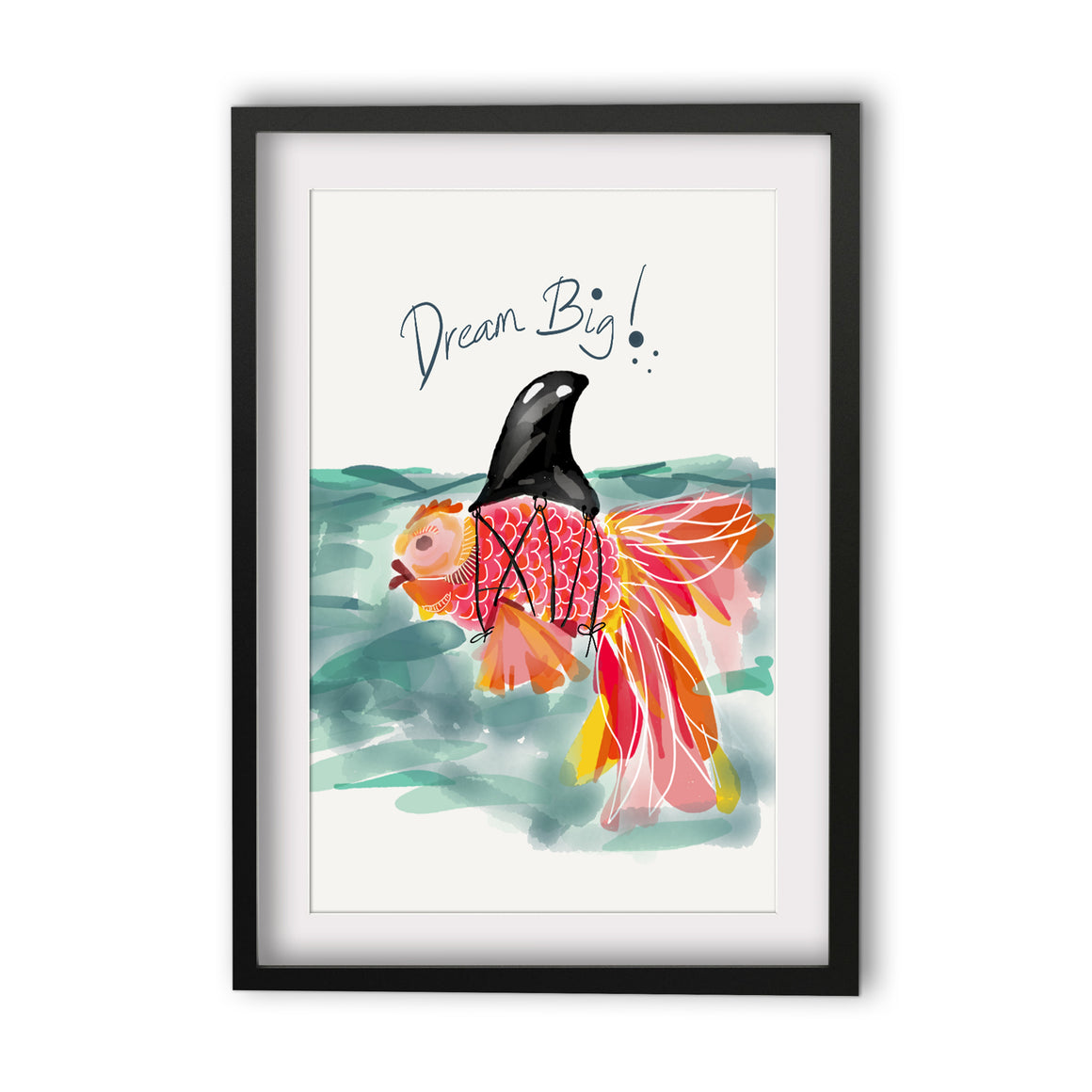 Print Quote - Dream Big Fish