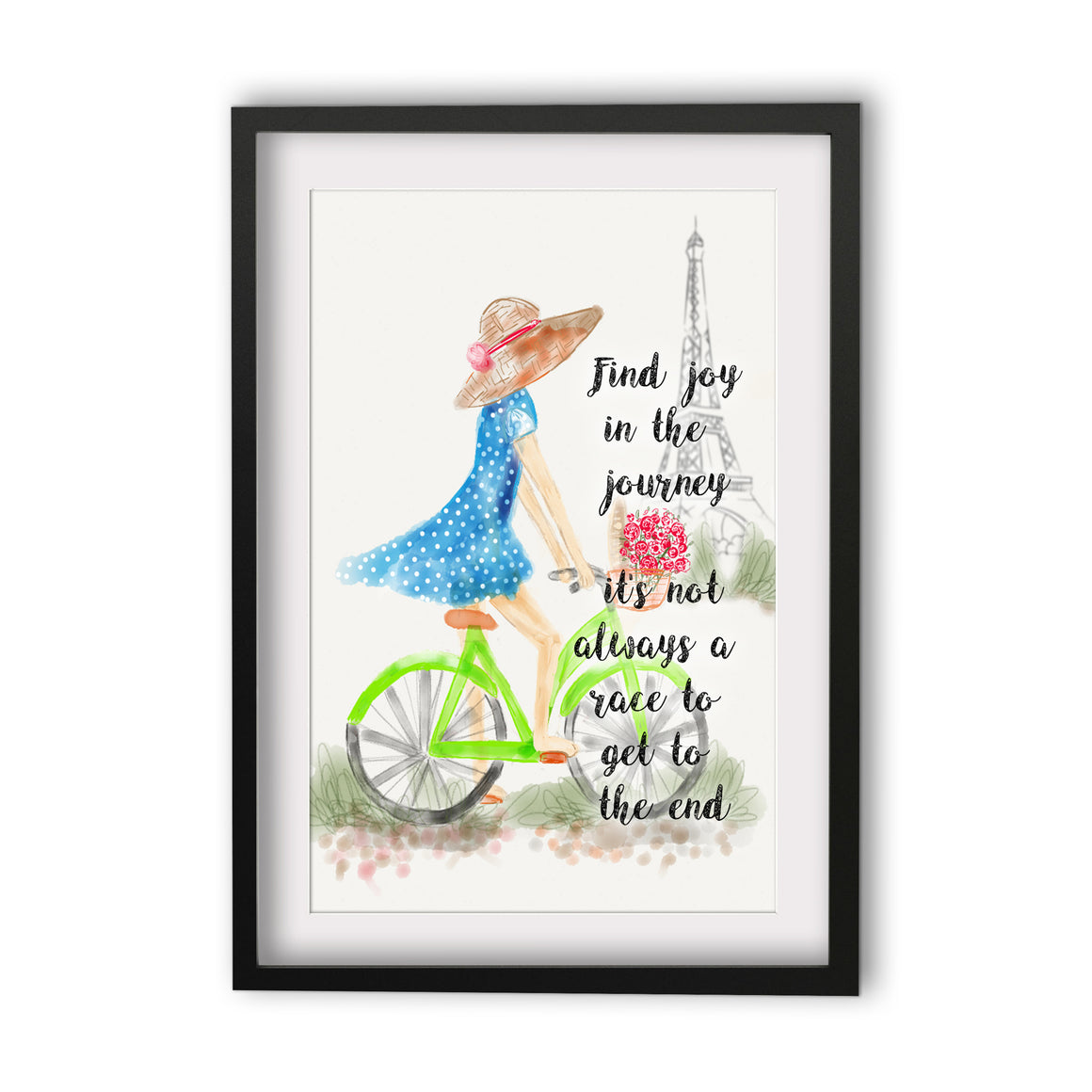 Print Quote - Joy in the Journey