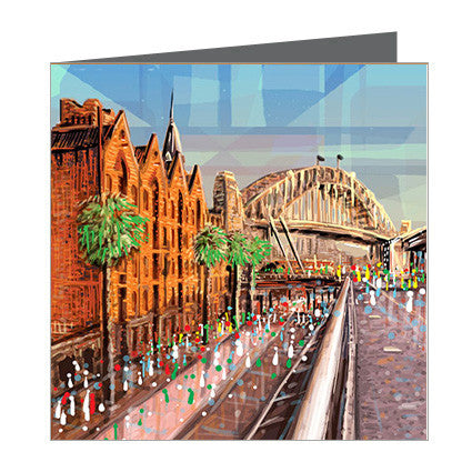 Card - Iconic Sydney - The Rocks