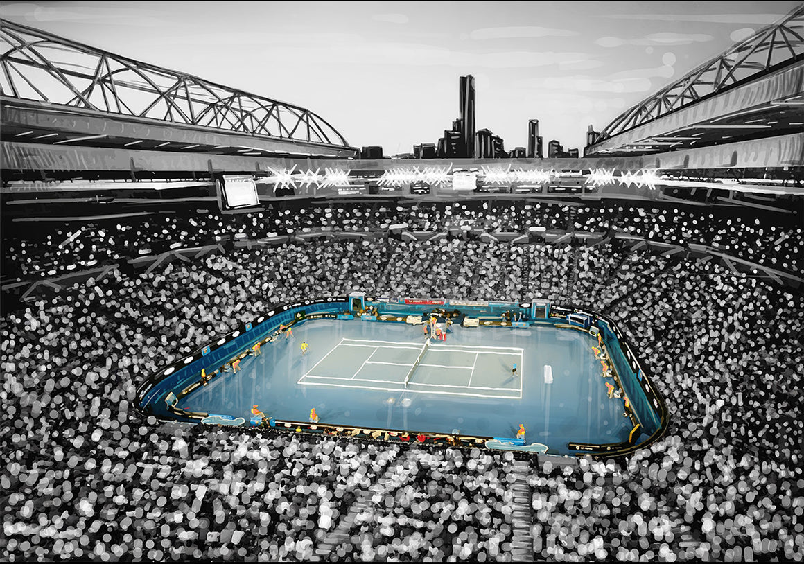 Print (Iconic) - Melbourne Tennis Centre