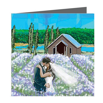 Card - Wedding in Lavendar