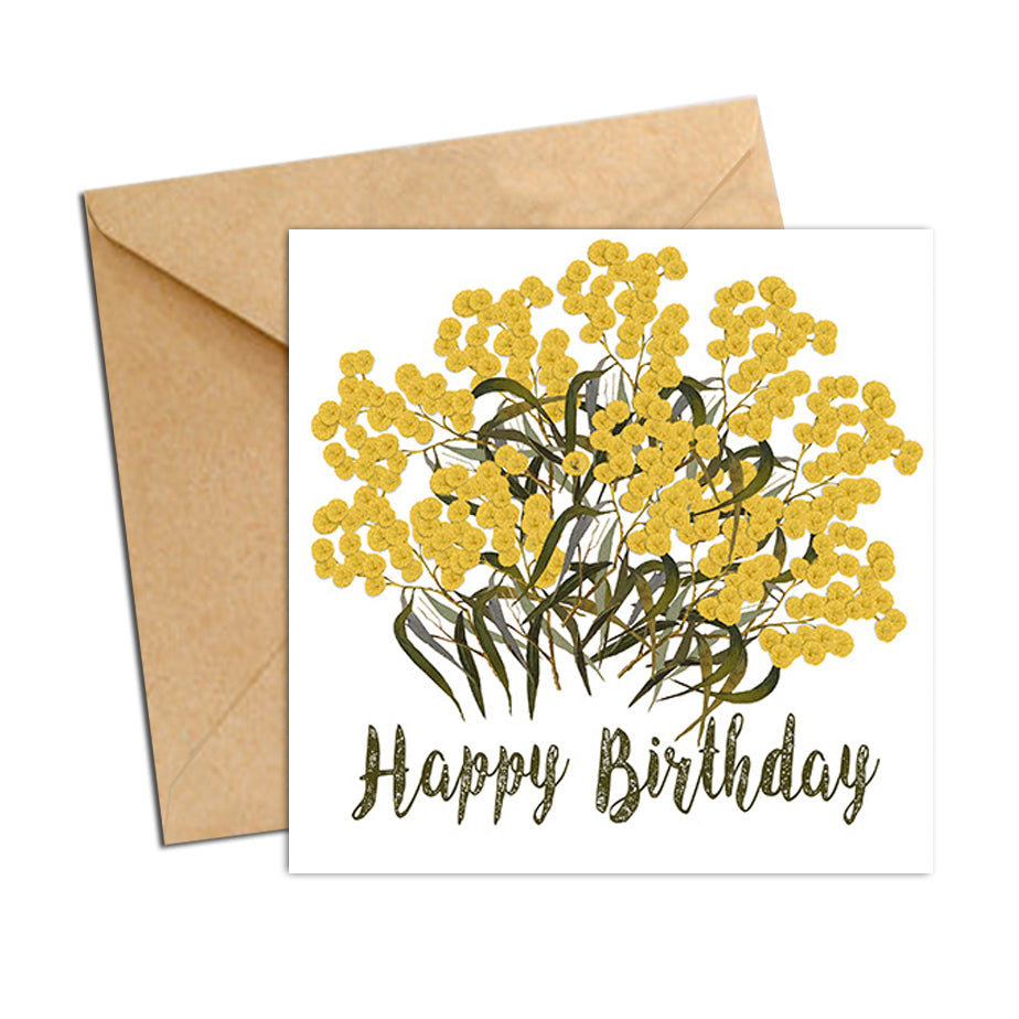 Card - Botanical Natives Wattles