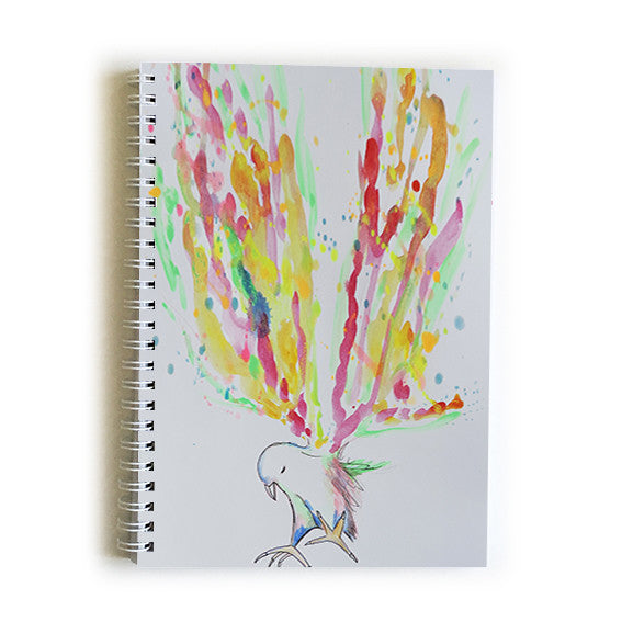 Note Book A5 - Baby Bird