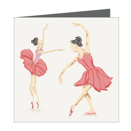 Card - Ballerinas