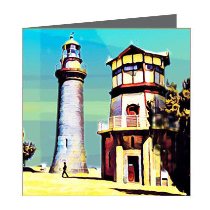 Card - Iconic Bellarine - Bellarine Queenscliff Lighthouse