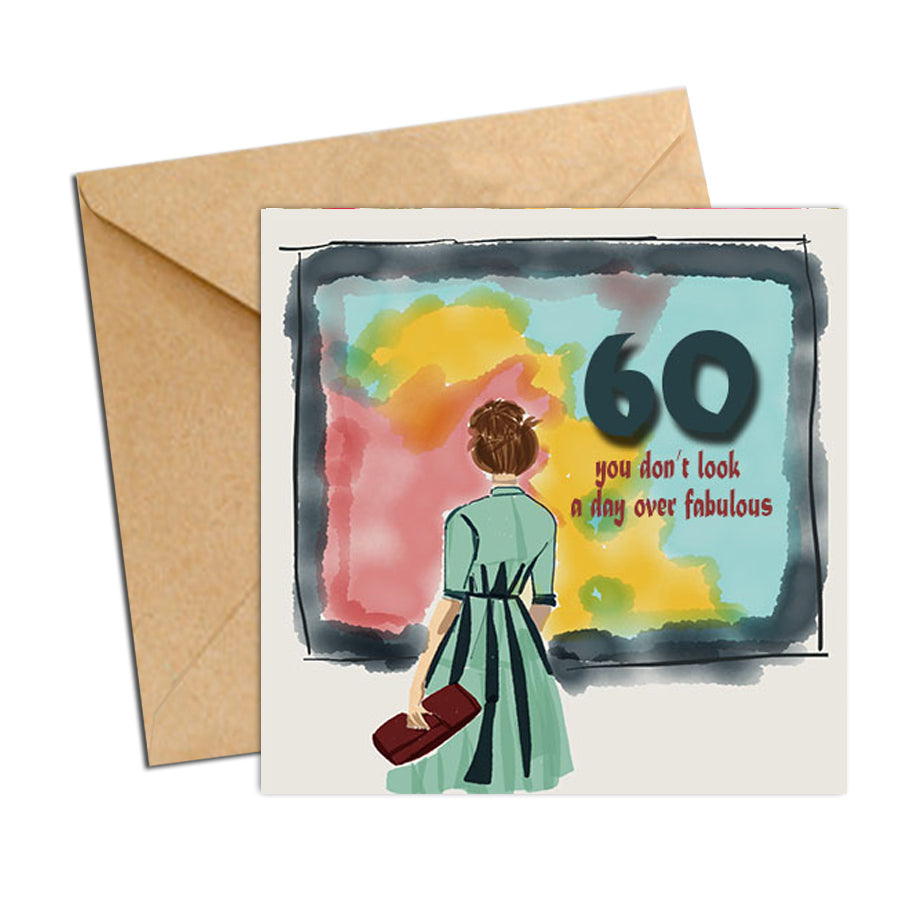 Card - Birthday Age 60