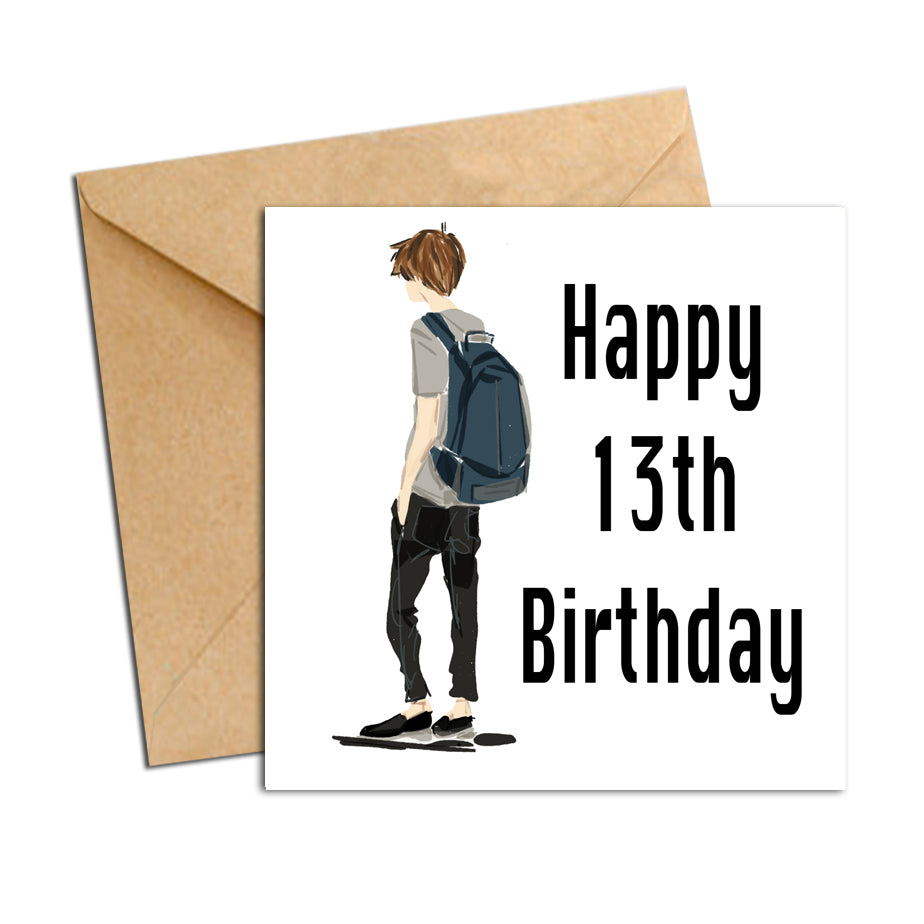 Card - Birthday male 13