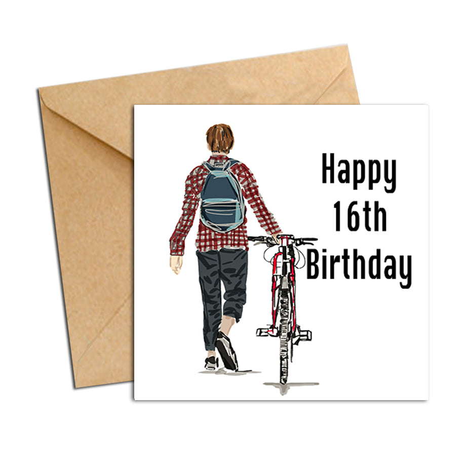 Card - Birthday male 16