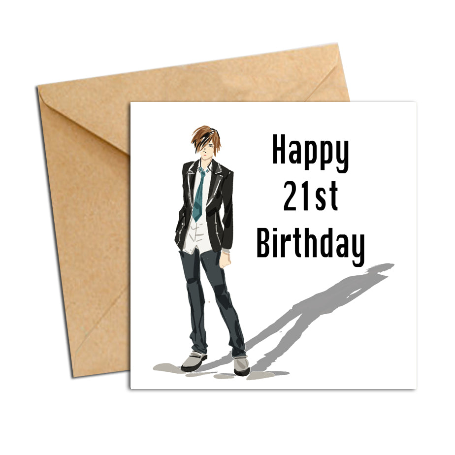 Card - Birthday male 21
