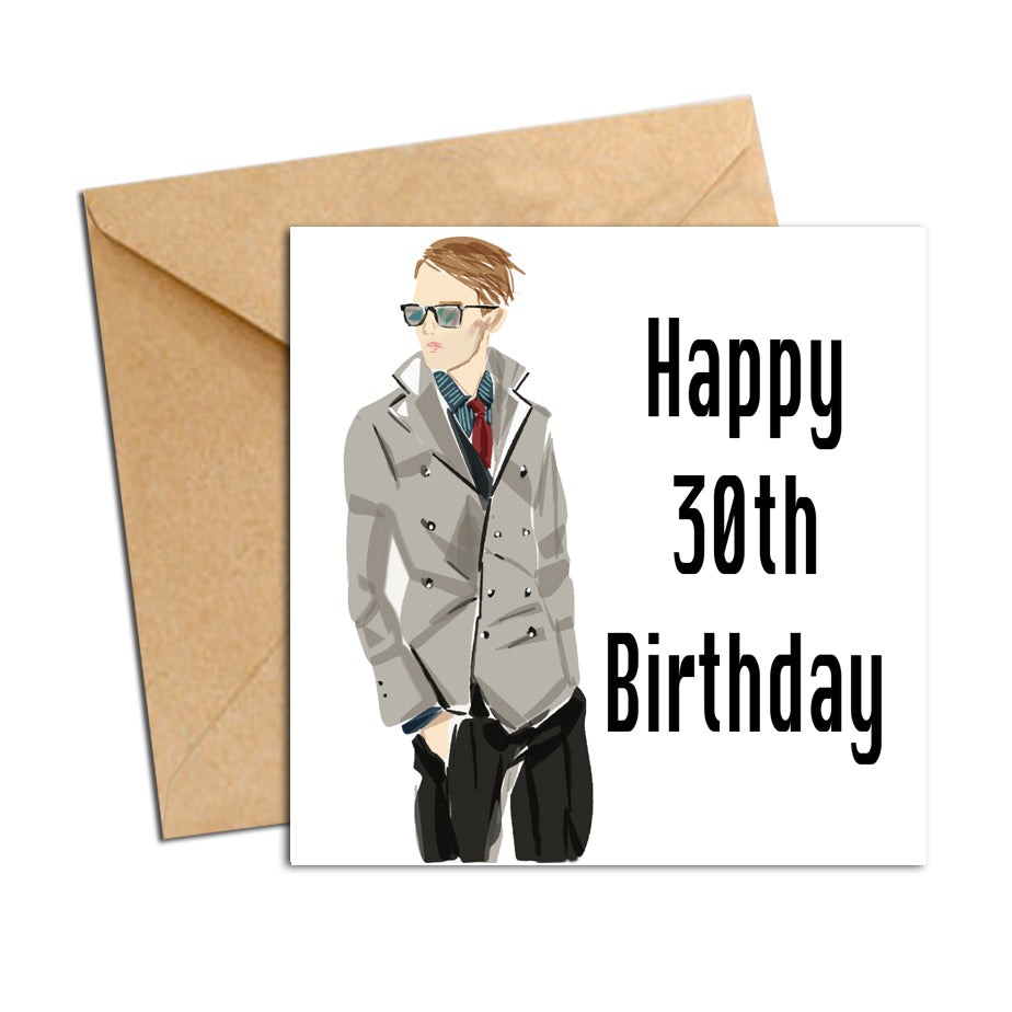 Card - Birthday male 30