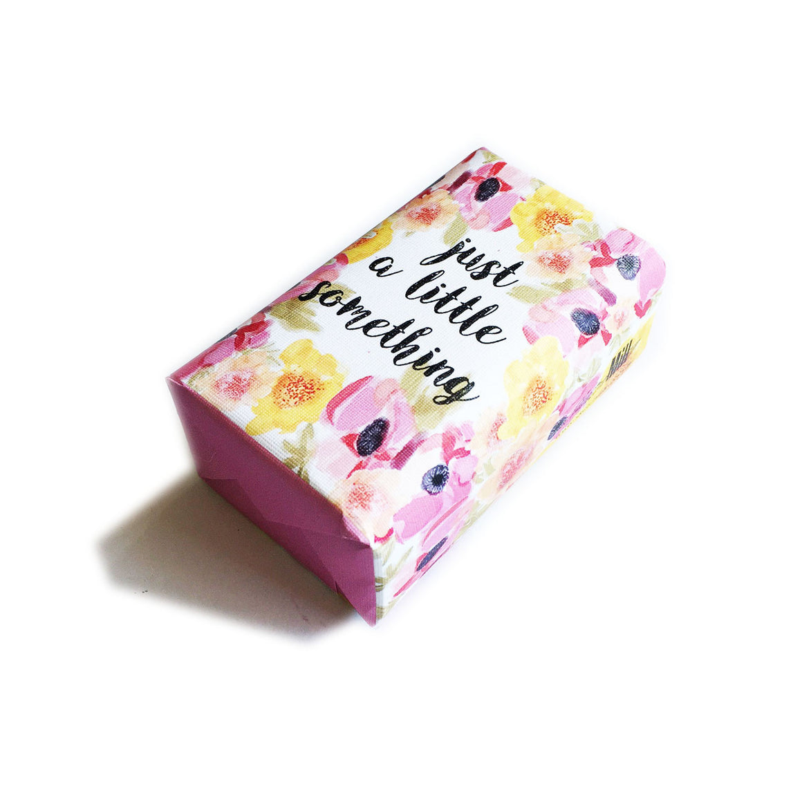 Soap Quote A little something Bloom Wrap
