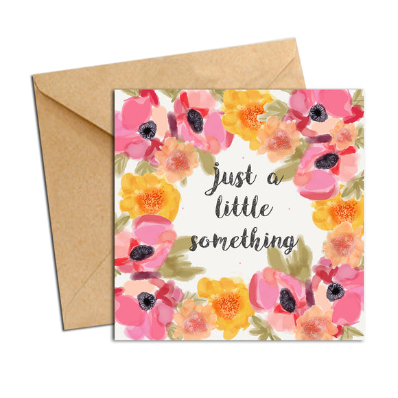 Card - Blooms - Little Something