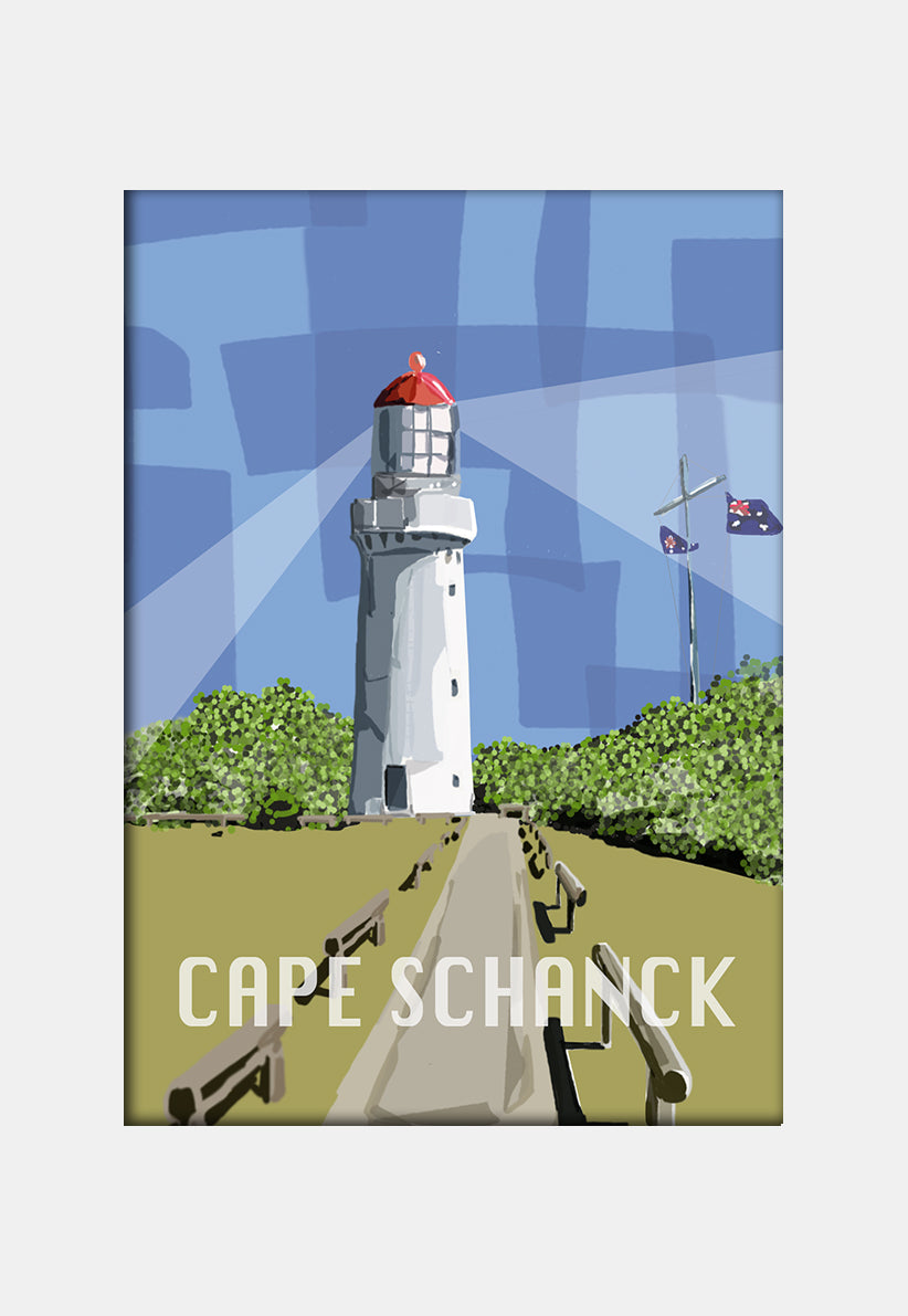 Print (Iconic) - Coastal Cape Schanck Lighthouse Mornighton Peninsula