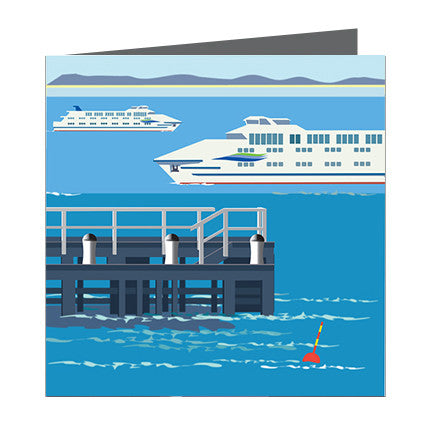 Card - Iconic Melbourne Annelis Queenscliffe Ferry
