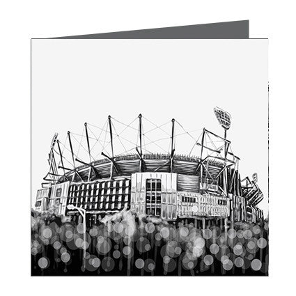 Card - Iconic Melbourne MCG External View