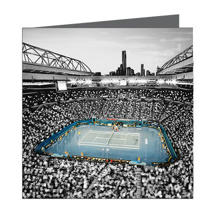Card - Iconic Melbourne Tennis center
