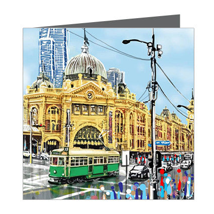 Card - Iconic Melbourne Flinders Street v2