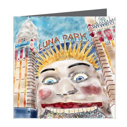 Card - Iconic Melbourne Luna Park